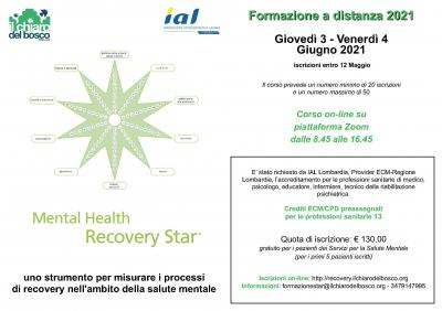 Mental Health Recovery Star™ - corso base