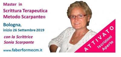 Master In Scrittura Terapeutica Metodo Scarpante - Bologna