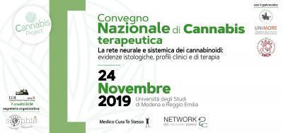 CONVEGNO NAZIONALE CANNABIS TERAPEUTICA. La rete neurale e sistemica dei cannabinoidi