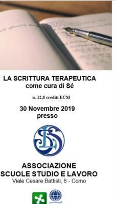 Evento residenziale La Scrittura terapeutica come cura di sé con Associazione Studio e Lavoro