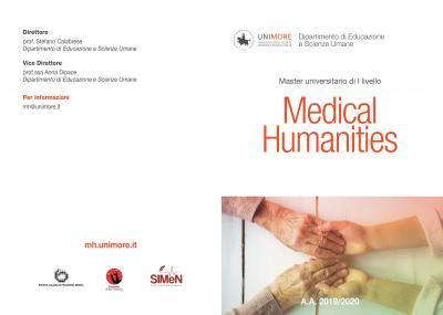 Master di I livello in Medical Humanities