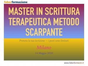 Master in Scrittura Terapeutica Metodo Scarpante - Faber Formazione