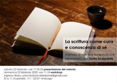 Workshop La scrittura come cura e conoscenza di sé