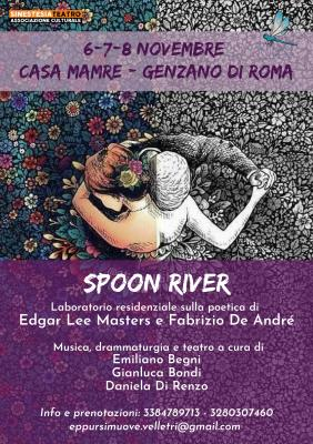 Spoon River - Laboratorio esperienziale sulla poetica di Edgar Lee Masters e Fabrizio De Andrè